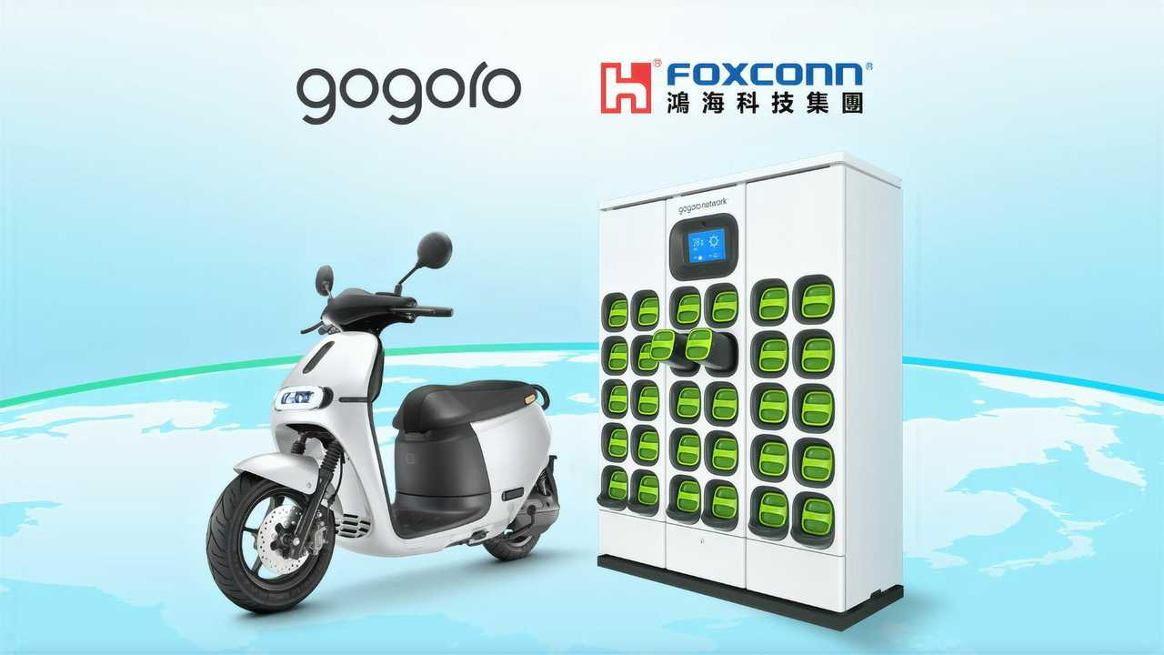 Gogoro Foxconn Partnership