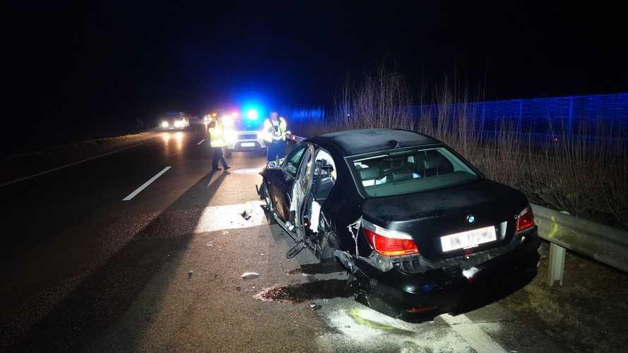 Forgalommal szembe hajtó sofőr okozott tömegkarambolt az M5-ösön