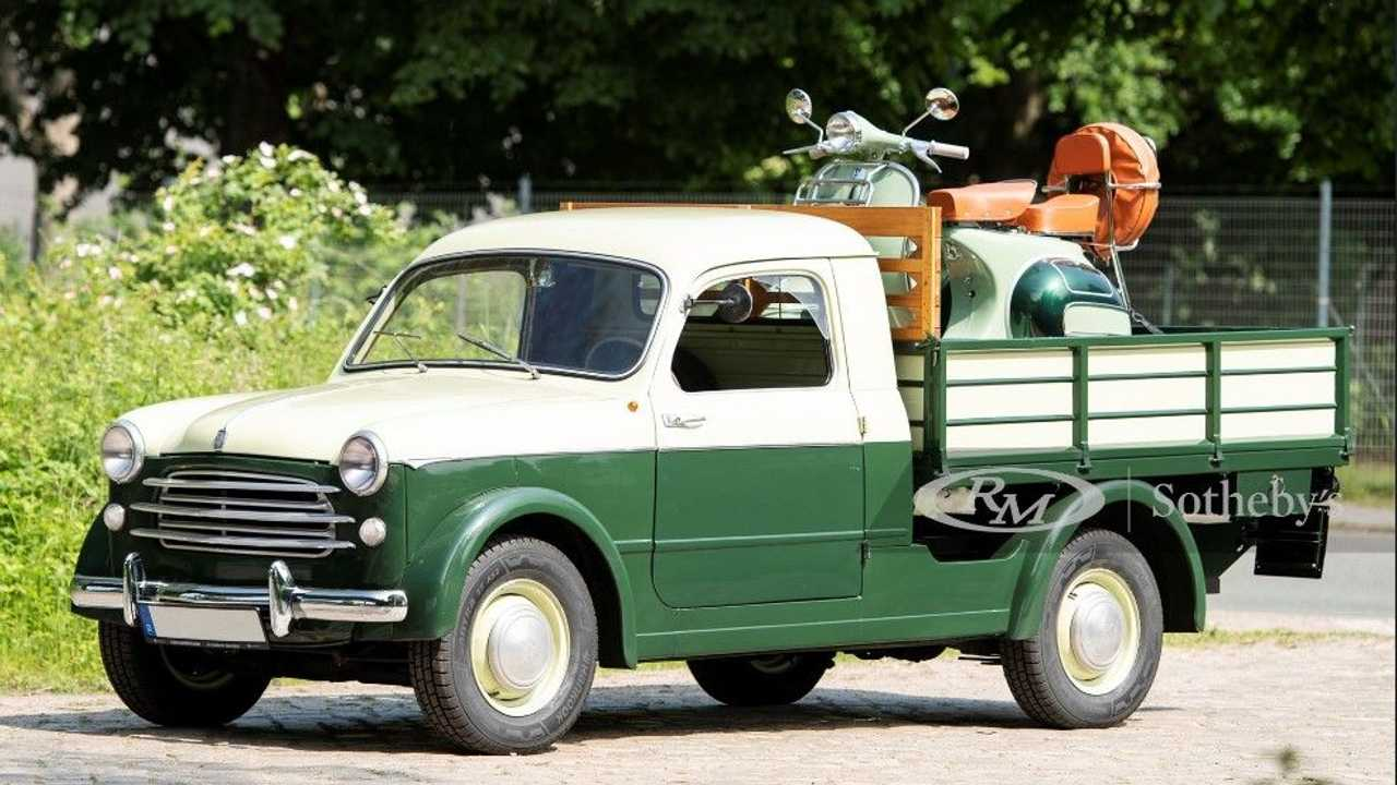 Fiat 1100 Camioncino 1955, l'esemplare all'asta di RM Sotheby's