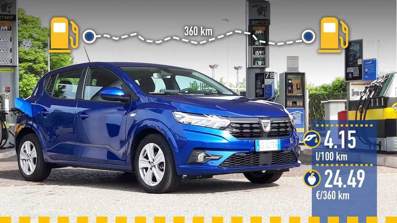 Реальный расход Dacia Sandero с литровой «турботройкой»