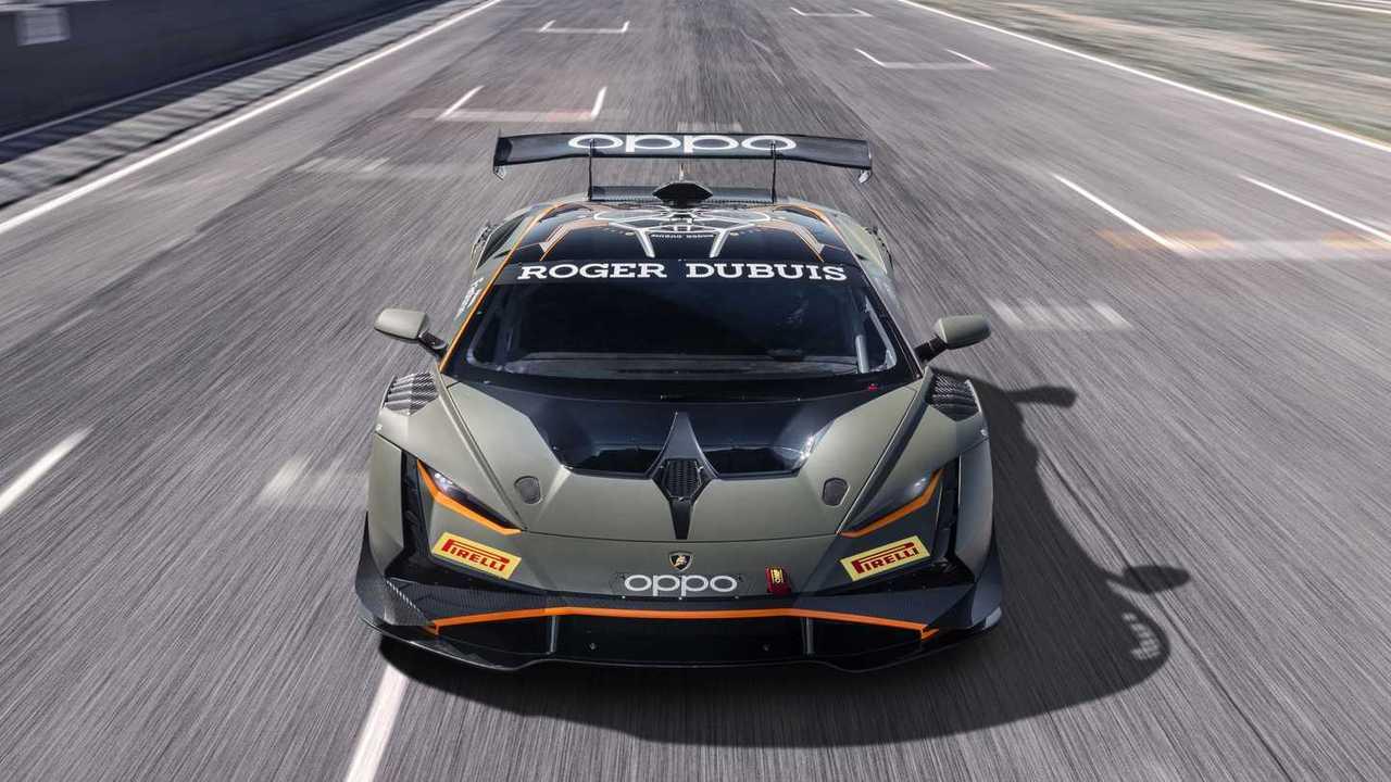 Lamborghini Huracan Super Trofeo Ön Cephe