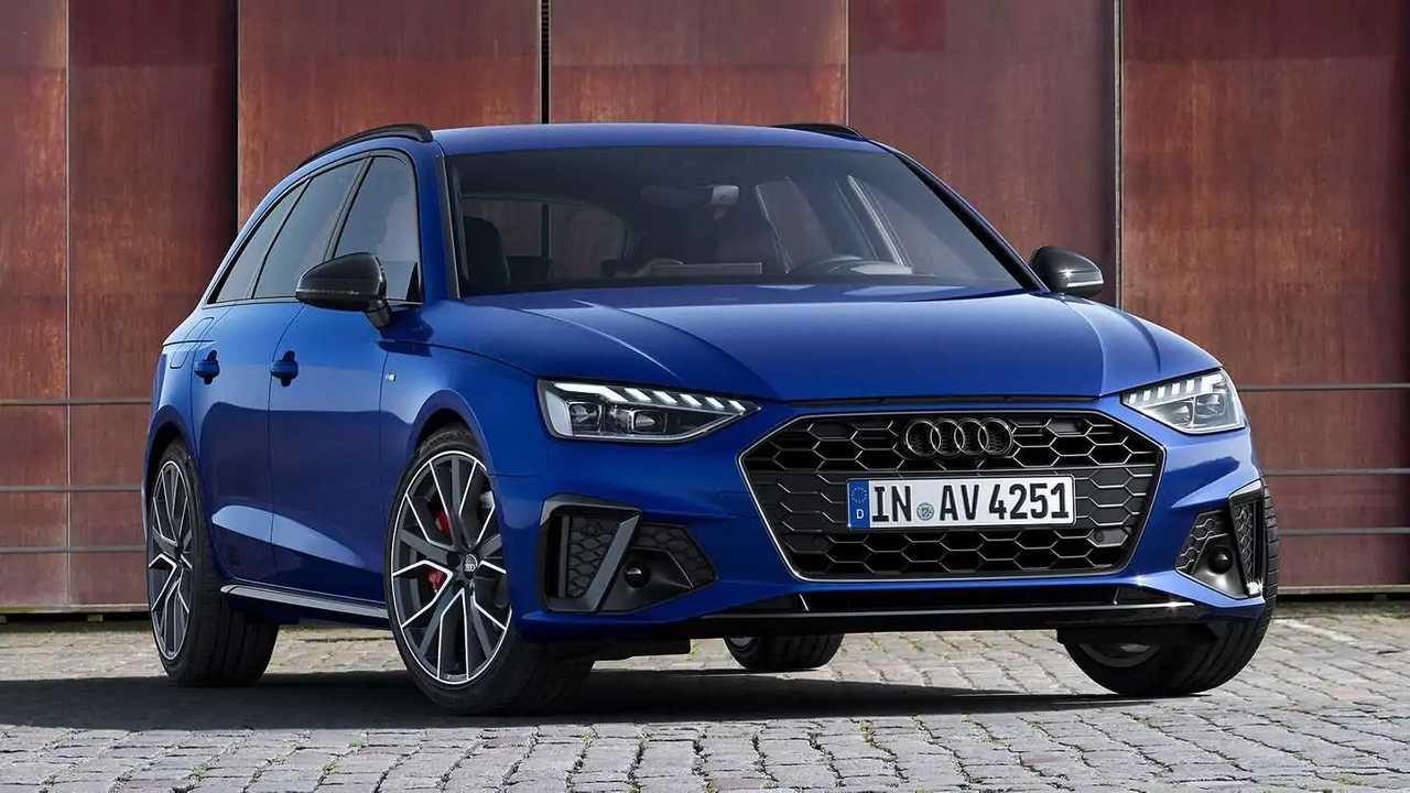Audi A4 Avant S line competition plus blu