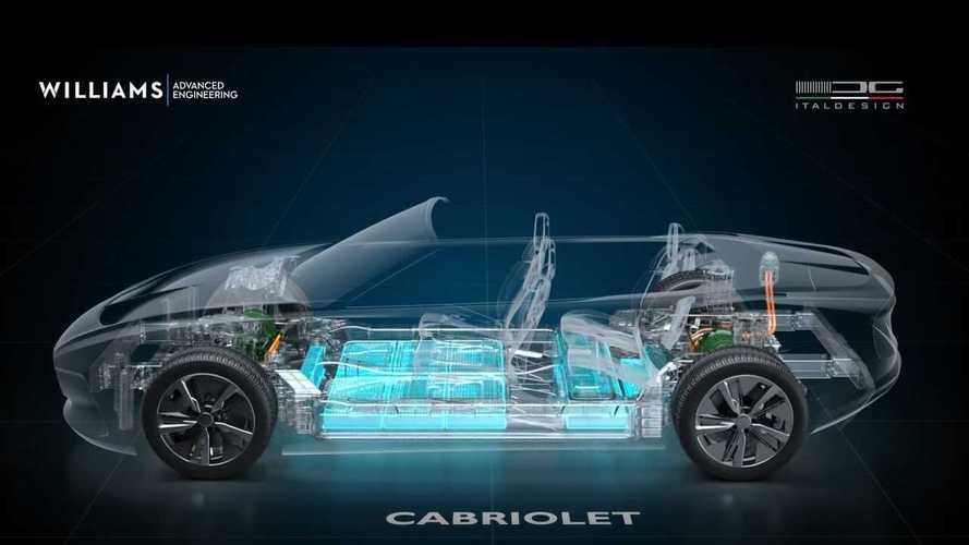 Italdesign ve Williams AE, elektrikli araç üretim hizmeti veriyor