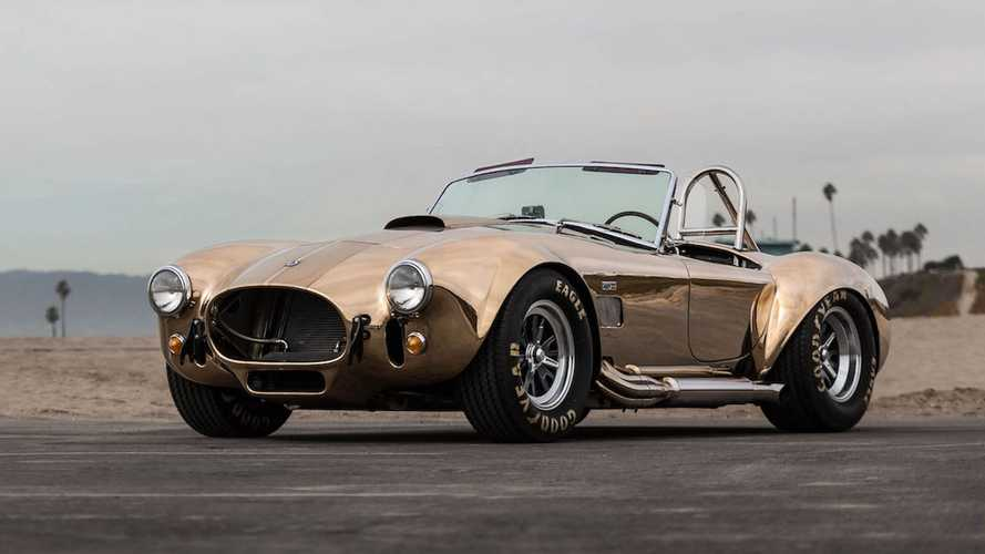 The Body Of This Beautiful Shelby Cobra Is Made Entirely Of Bronze