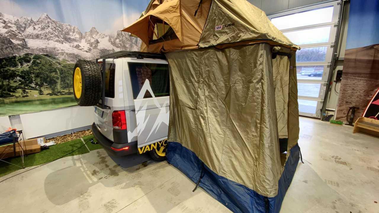 Flowcamper Casper, un Volkswagen T6 camper