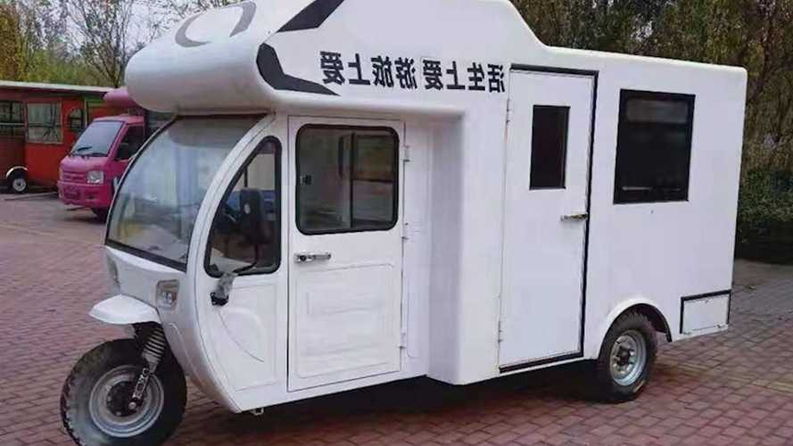 Odd-Looking Three-Wheeled Electric RV From China Only Sells For $4,800