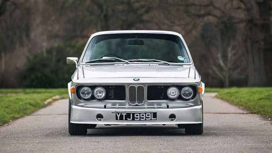 La BMW 3.0 CSL du leader de Jamiroquai en vente
