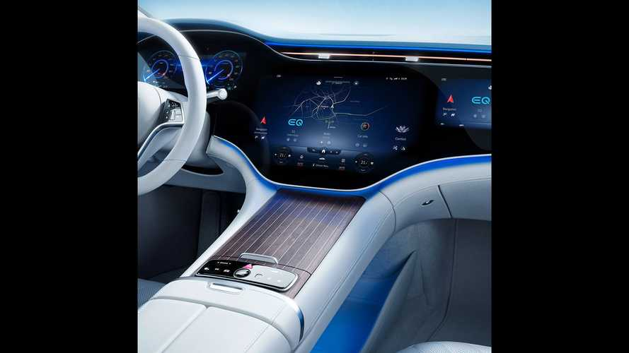 Mercedes-Benz EQS 2021, interior