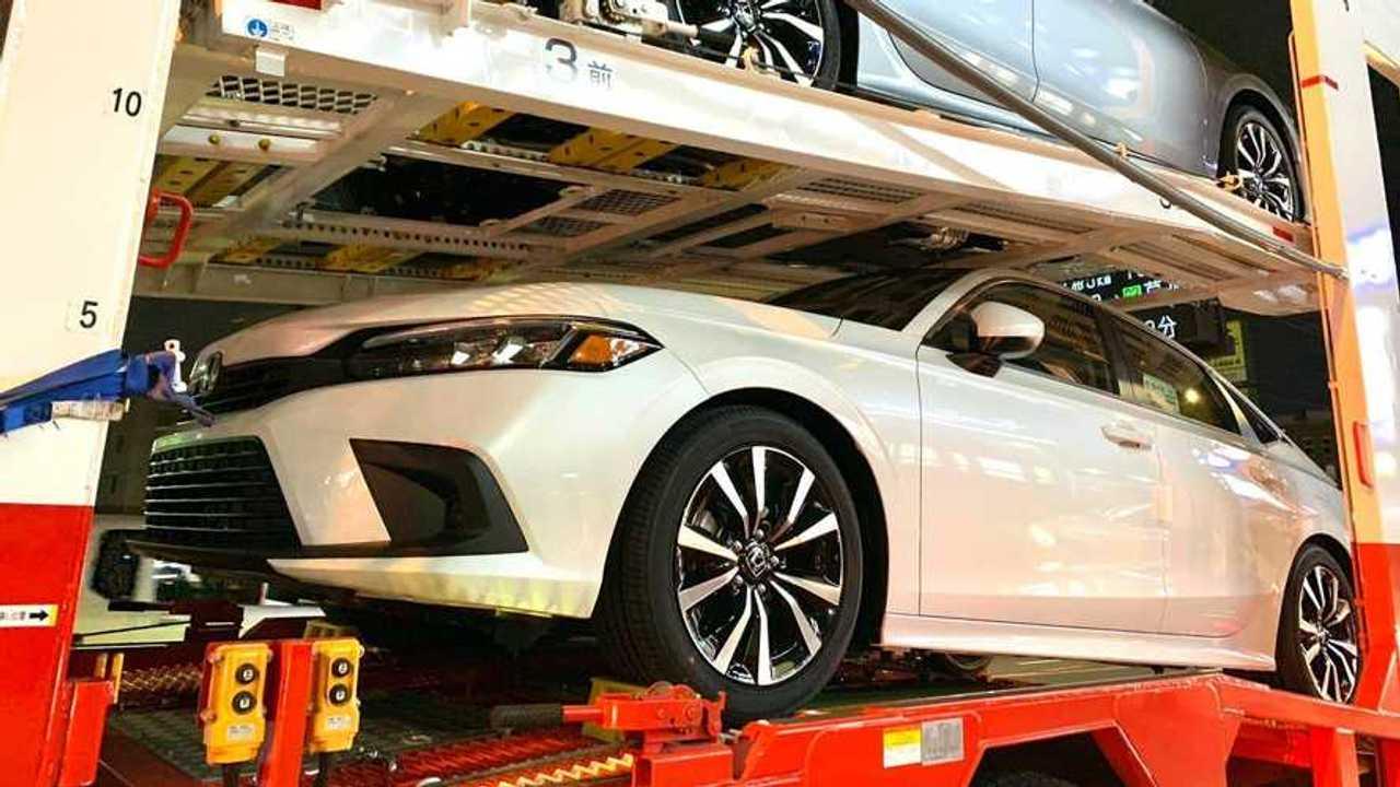 2022 Honda Civic spied again