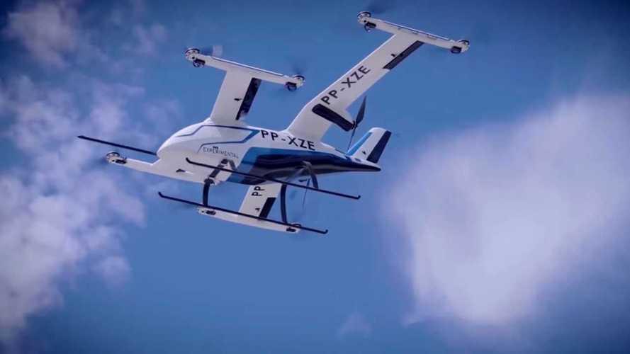 Embraer mostra 1º teste com 'carro elétrico voador' feito no Brasil