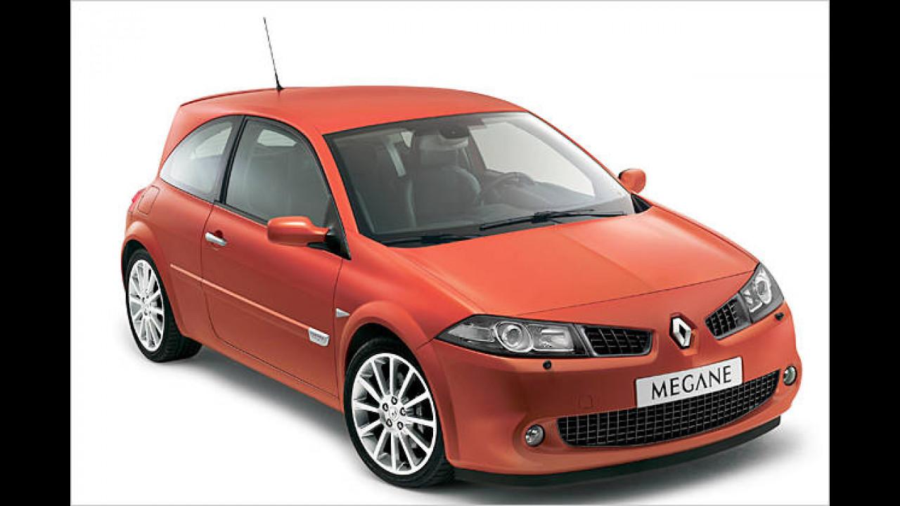Platz 6: Renault Mégane 2.0 16V Turbo Renault Sport