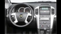 Chevrolet Captiva: Preise