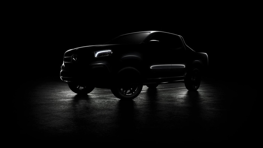 Mercedes X-Class Teased One Last Time Ahead Of Today's Reveal