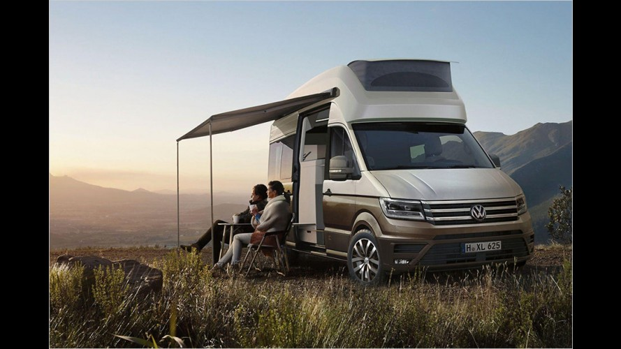 Studie: Der VW California XXL auf Crafter-Basis
