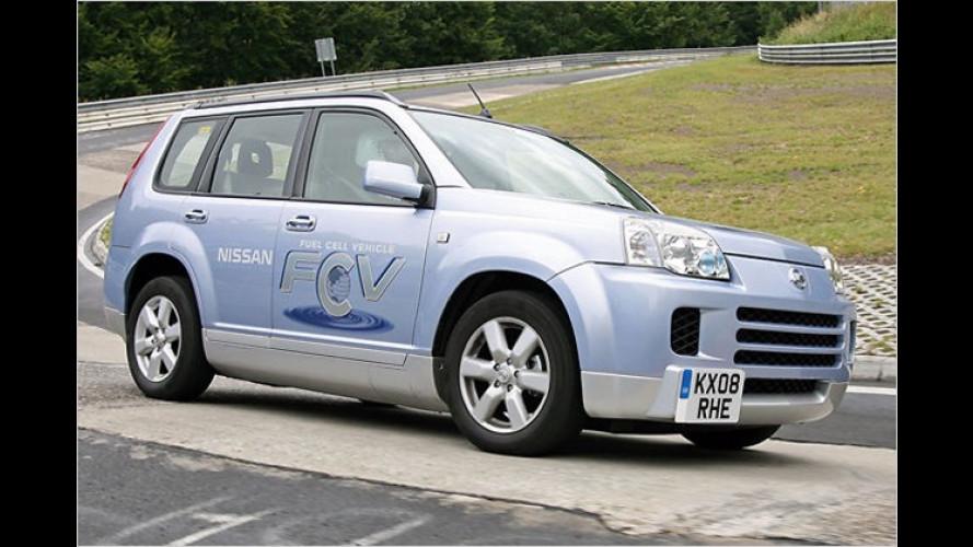 Nissan: Neue Brennstoffzellen-Generation mit mehr Leistung