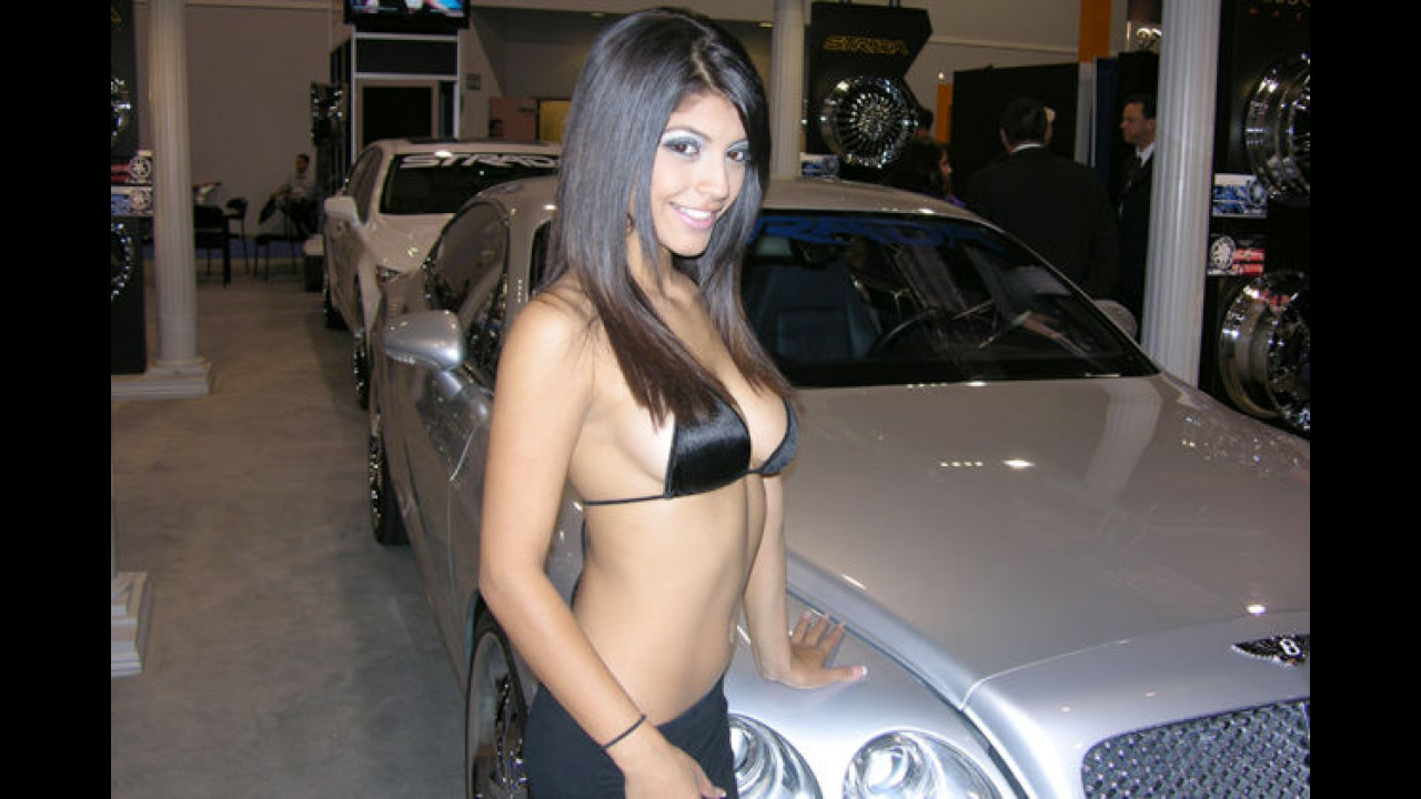 Bevor dumme Fragen kommen: Nein, ein Bentley wird nicht serienmäßig mit solch einer Kühlerfigur ausgeliefert. Das gibt`s nur bei Rolls-Royce