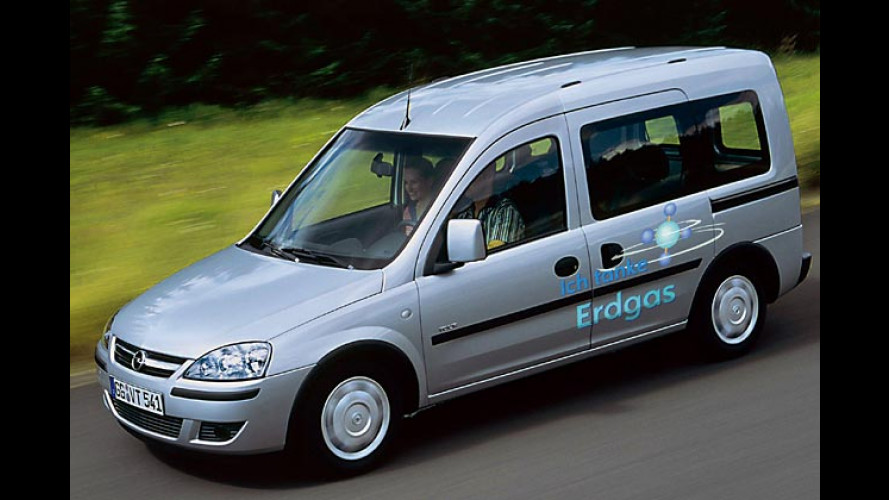 Neues Erdgas-Fahrzeug: Studie Opel Combo Tour 1.6 CNG
