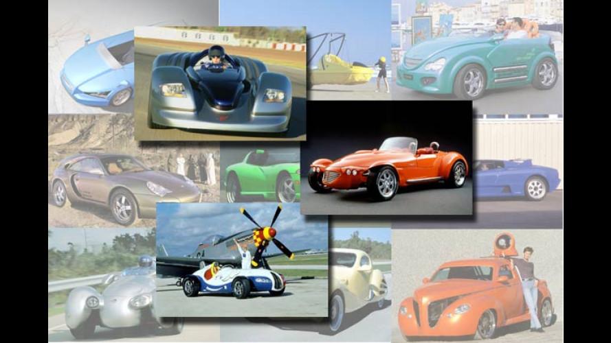 Die verrückten Auto-Ideen von Rinspeed
