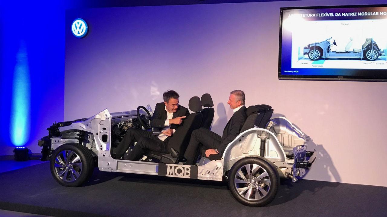 Novo VW Polo plataforma