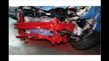 Crash Audi Q7 - Fiat 500