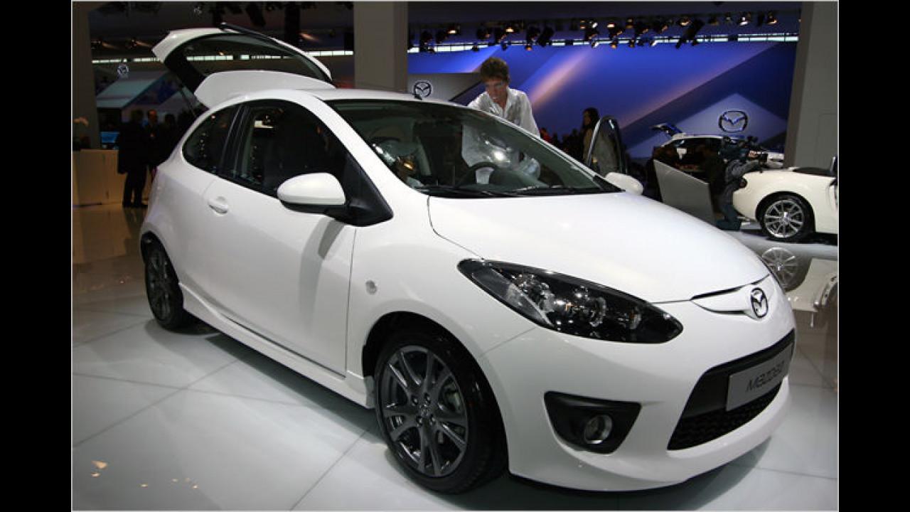 Mazda 2 Sport mit Optik-Paket