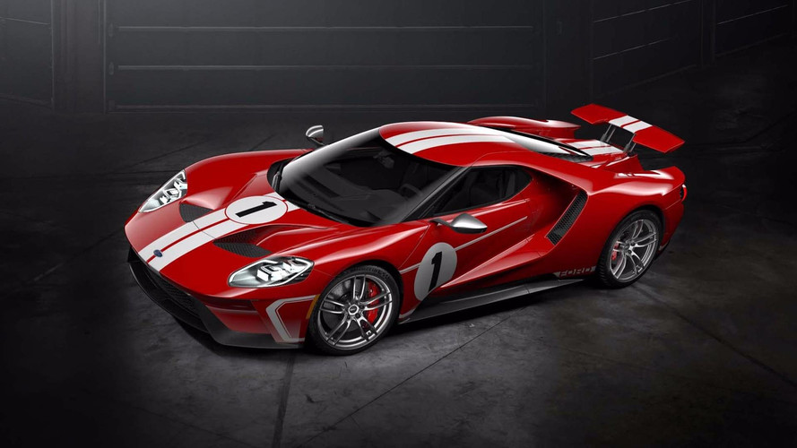 2018 Ford GT Goes Old School With '67 Heritage Edition