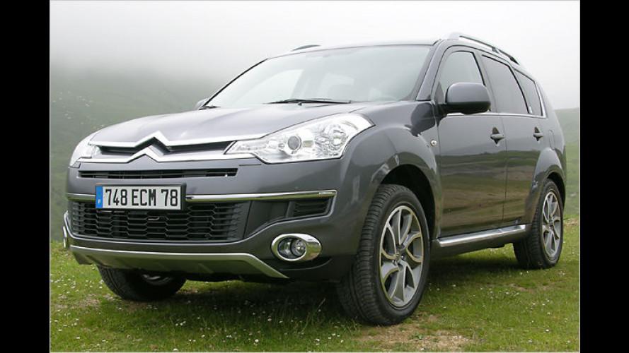 Stadt-Land-Avantgarde: Das SUV Citroën C-Crosser im Test