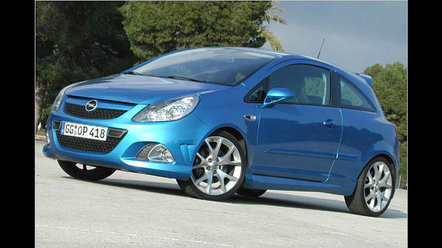 Opel Corsa OPC: Richtig auf Zack im Dreiecks-Kurs