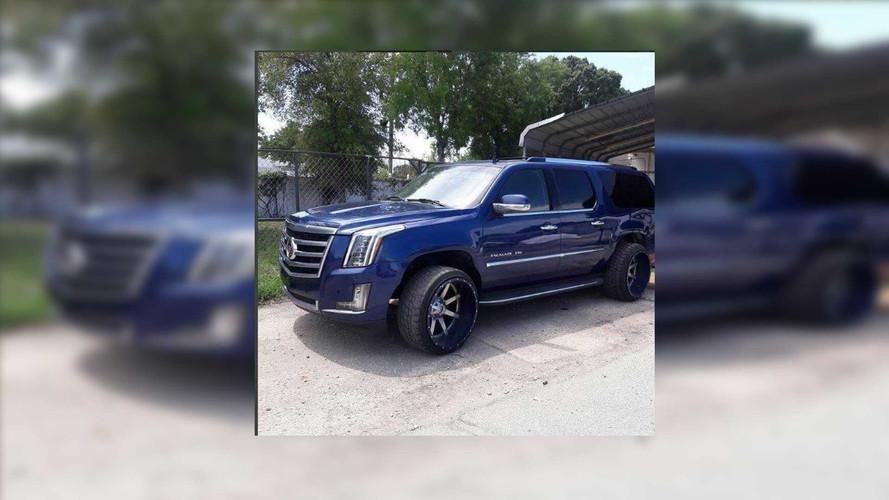 Florida Man Grafts 2017 Front End On 2007 Cadillac Escalade