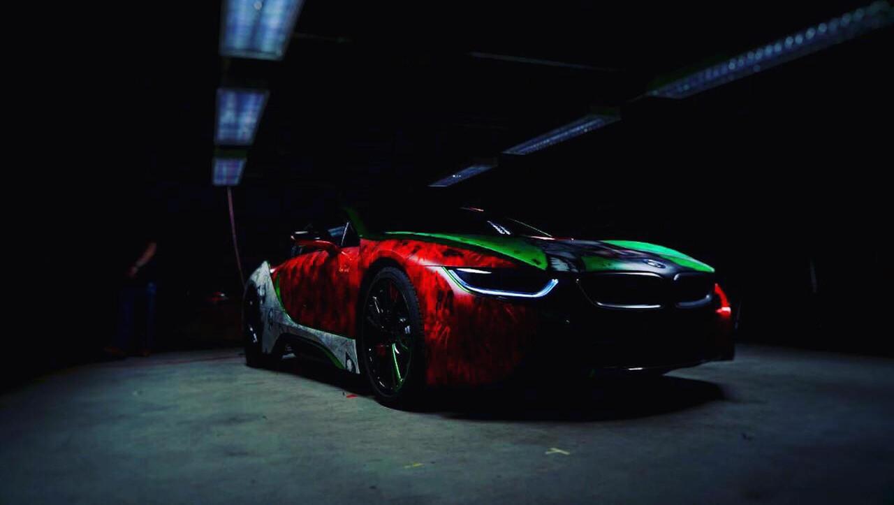 Joker Bmw I8 Photo Motor1 Com Canada