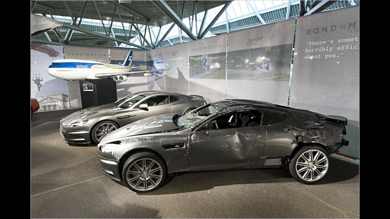 Aston Martin DBS Stunt Car