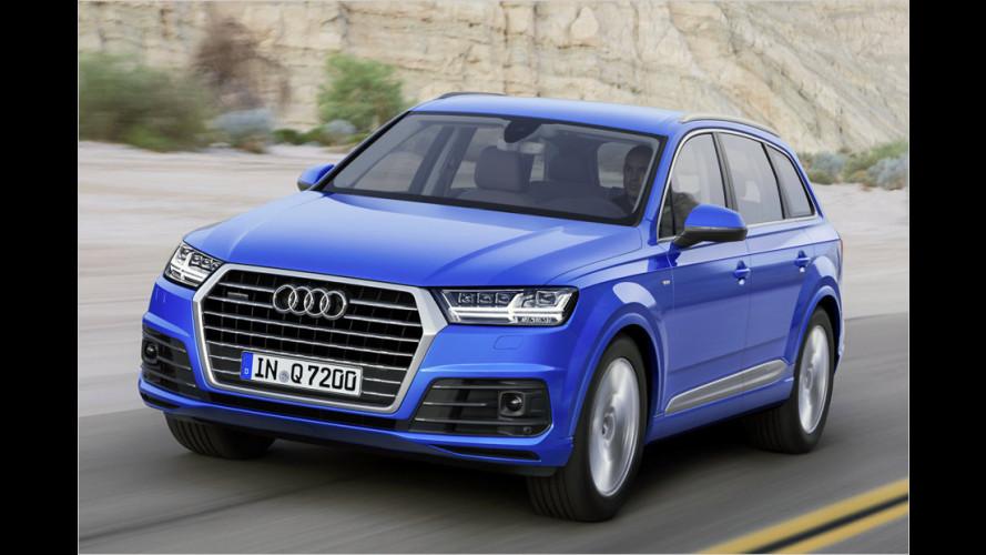Nach zehn Jahren erneuert Audi den Q7 (2015)