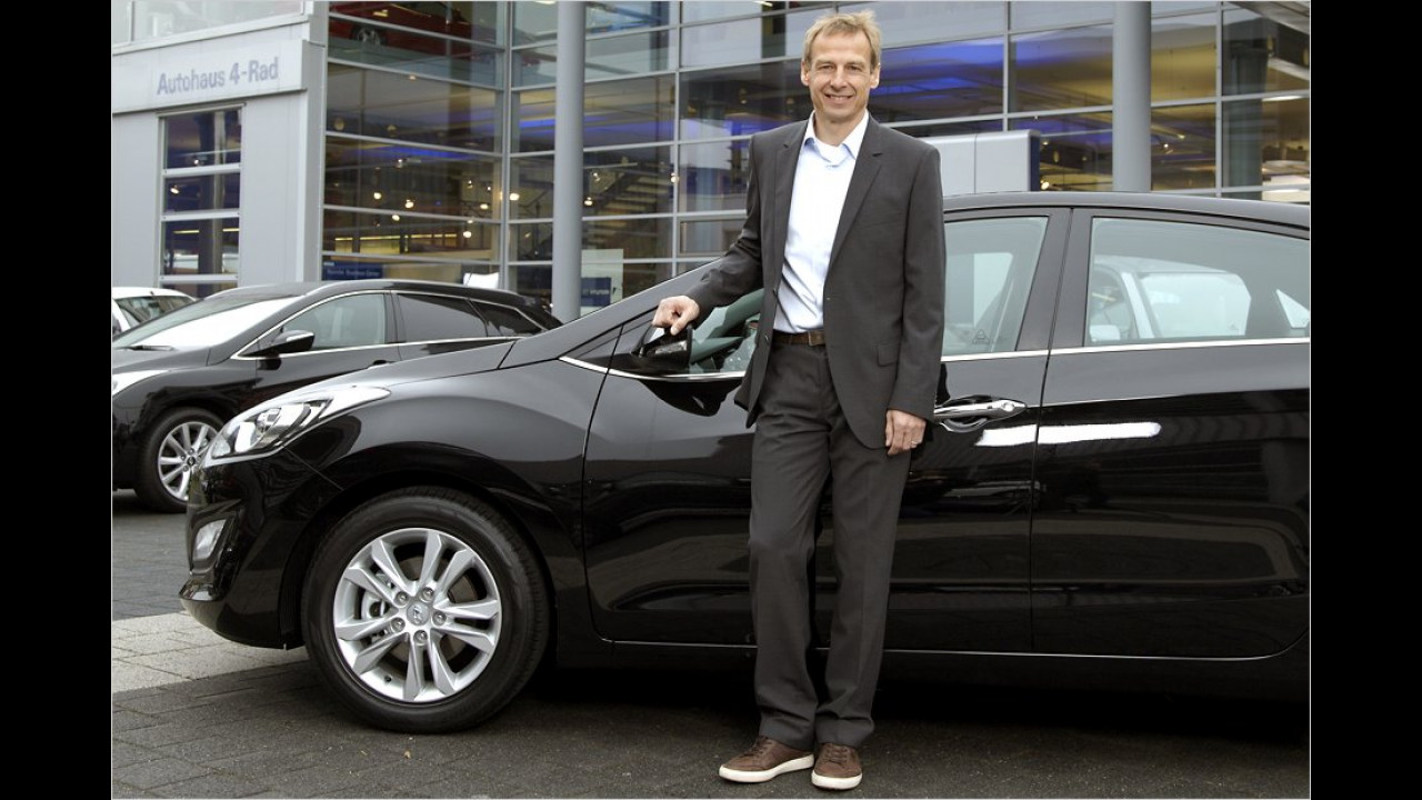Jürgen Klinsmann: Hyundai i30