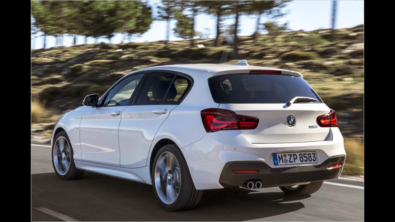 Platz 10: BMW 1er