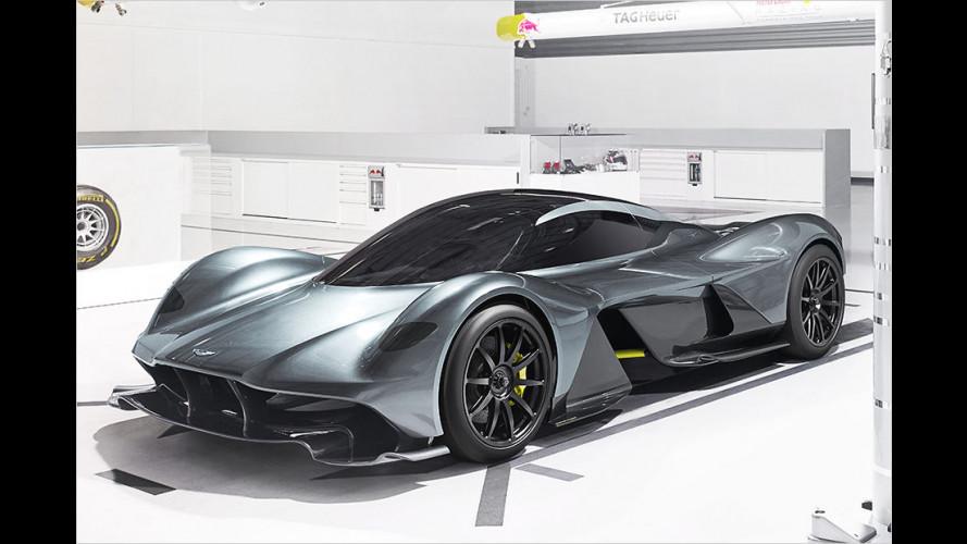 AM RB 001: So kommt das Hypercar von Aston Martin und Red Bull
