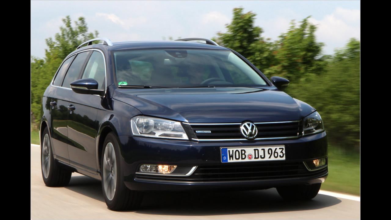VW Passat: 16 Millionen (seit 1973)