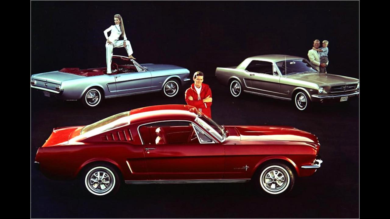 Camaro gegen Mustang