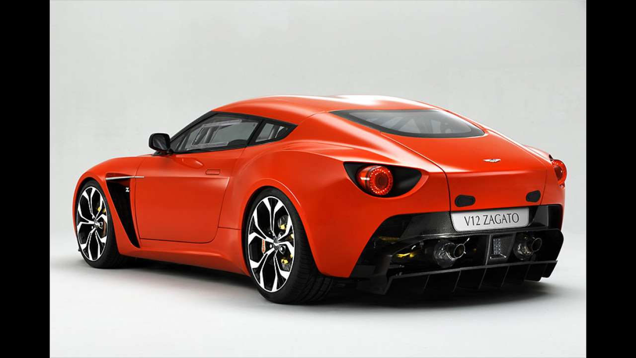2011: Aston Martin V12 Zagato