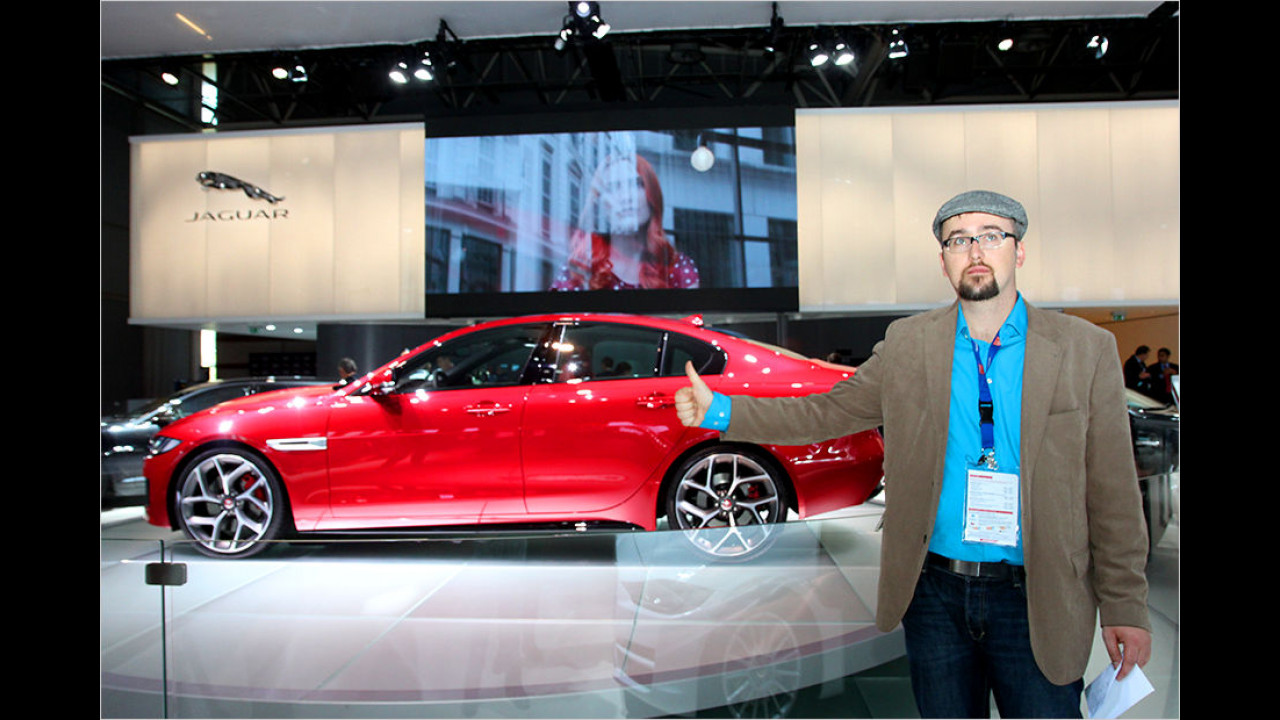 Top: Jaguar XE