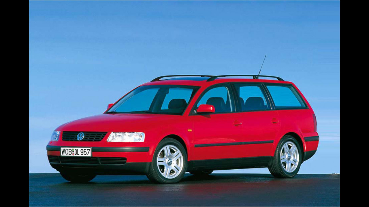Platz 13: VW Passat V6 2.5 TDI