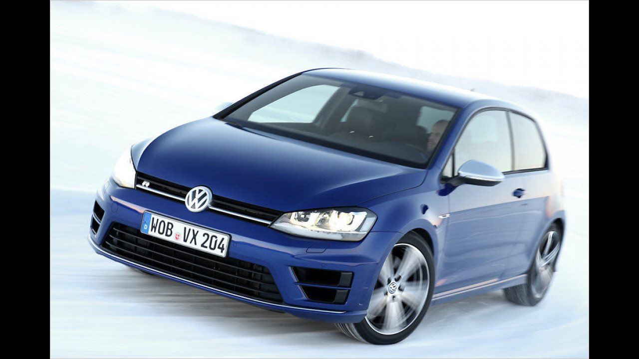 VW Golf R: 300 PS