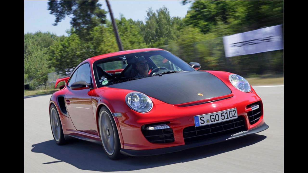Porsche 911 GT2 RS (997): 7:18 Minuten (schnellster Porsche 911)