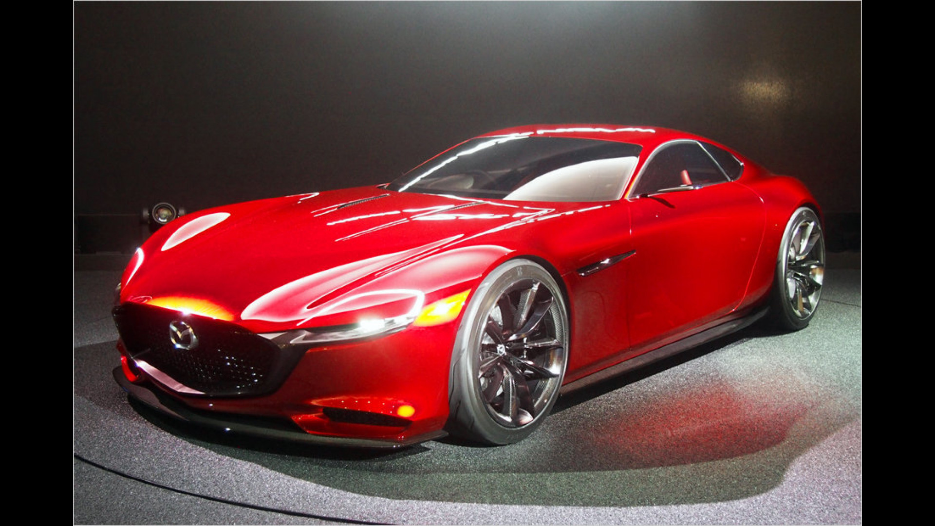 Mazda enthüllt Sportwagenstudie RX-Vision