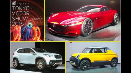 Die Highlights der Tokyo Motor Show 2015