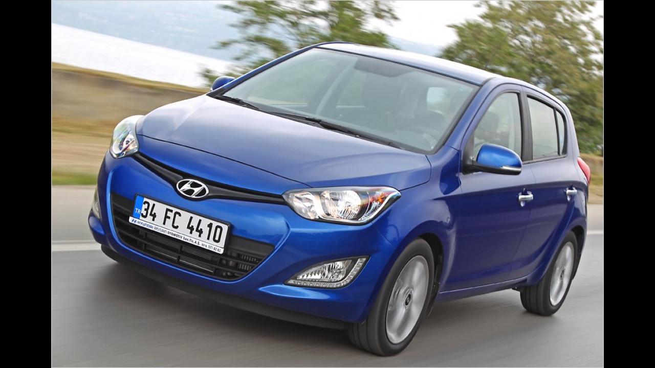 Kleinwagen, 2. Platz: Hyundai i20