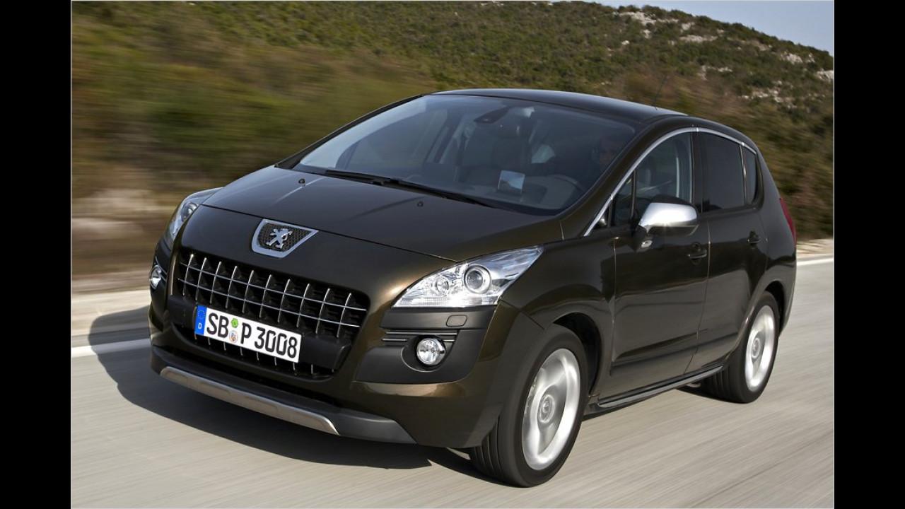SUVs, 2. Platz: Peugeot 3008