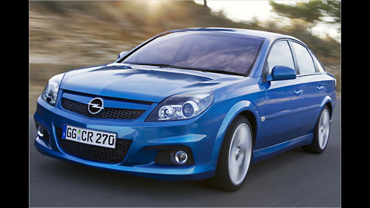 Top: Opel Vectra, Baujahr 2007, 52 Standtage