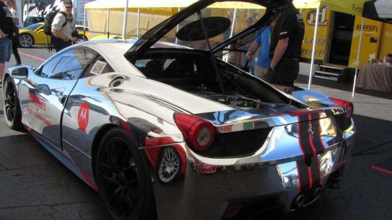 Chrome Ferrari 458 Chellenge 1041940