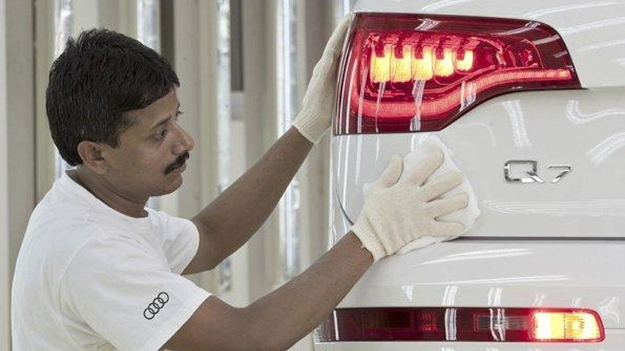 Audi starts making the Q7 in India