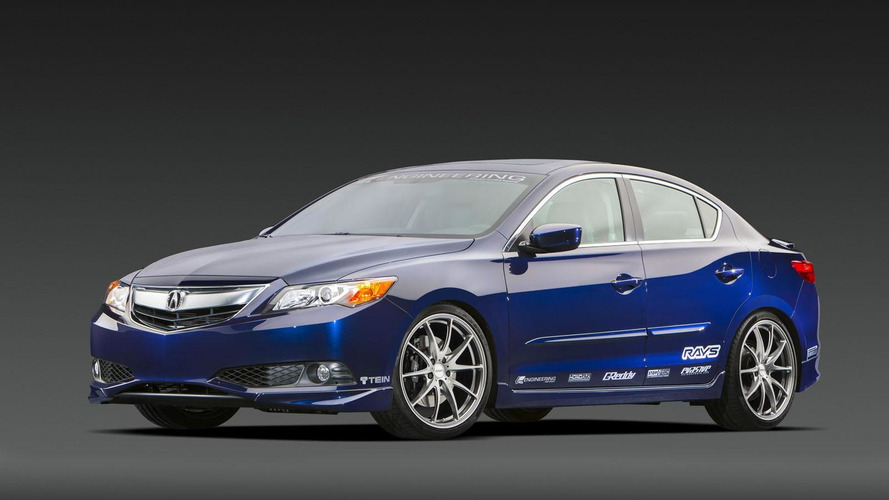 Acura ILX Street Build & Endurance Racer bow in SEMA